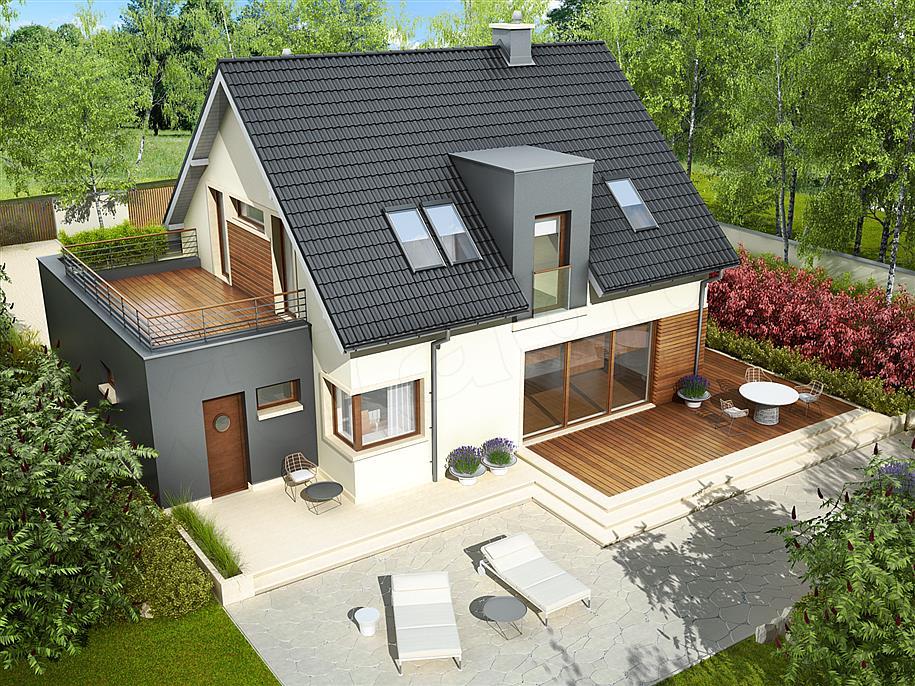 Projekt domu Mati G1, źródło: extradom