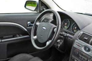 Wnętrze Forda